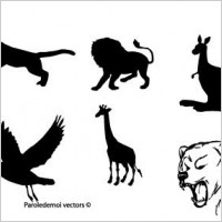 Link toAnimals silhouettes