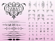 Link toAntique decorations vector free