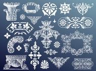 Link toAntique designs vector free