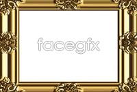 Link toAntique golden frame vector