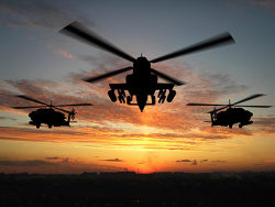 Apache helicopter picture material