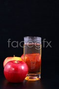 Link toApple and glass psd