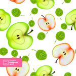 Link toApple background vector