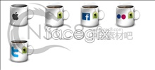 Link toApple cup desktop icons