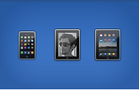 Link toApple iphone, ipod and ipad icons psd