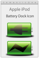 Link toApple ipod battery dock icon