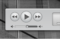 Link toApple itunes similar media controls and interface psd