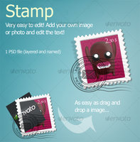 Link toApple style stamp mail icons