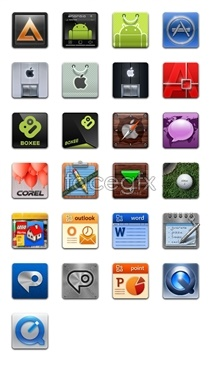 Link toApplication software desktop icons