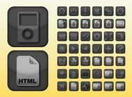 Apps icons vector free