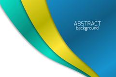 Link toArc 3 color vector background