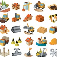 Link toArchitectural theme icon vector