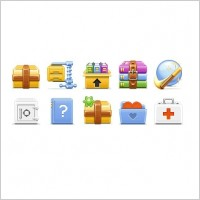 Link toArchive toolbar icons icons pack