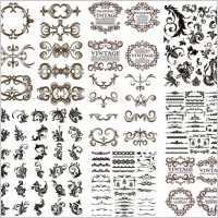 Link toAre hundreds of gorgeous european pattern vector