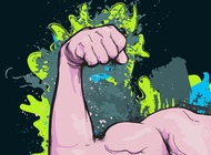 Link toArm muscles vector free