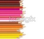 Link toArrange colored pencils psd