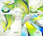 Link toArranged dots background vector