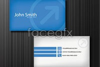 Link toArrow background business card design vector