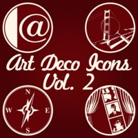Link toArt deco icons, volume 2