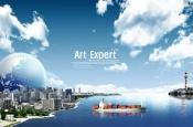 Link toArt expert psd urban posters