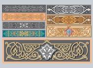 Link toArt nouveau ornaments vector free
