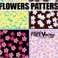 Link toArt vector flowers patterns