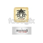 Link toAssassin's creed logo vector