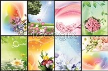 Link todesign psd backgrounds spring bloom spring the in Attitude
