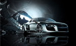 Link toAudi r8 cars posters psd