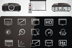 Link toAudio and video products for home theater icon vector