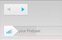 Link toAudio controls interface psd
