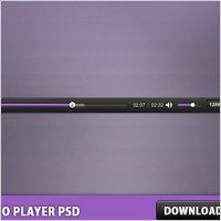 Link toAudio player free psd