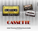 Audio tapes psd