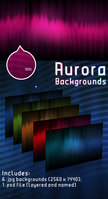 Link toAurora backgrounds