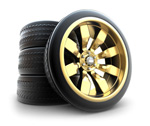 Link toAuto and tire psd