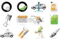 Link toAuto repair icon vector