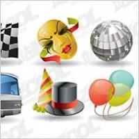 Link toAutomotive entertainment calendar icon vector material