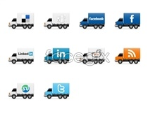 Link toAutomotive social media icons