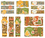 Autumn banners banners vector