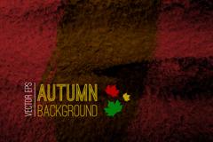 Link toAutumn dark water background vector