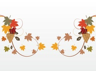 Link toAutumn decorations vector free