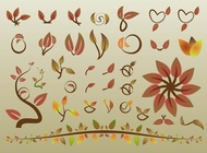 Link toAutumn leaves vectors free