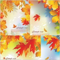 Link toAutumn vector background