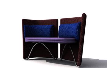 Link toAvant-garde fashion sofa 3d model