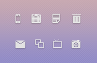 Link toAwesome icons psd