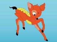 Link toBaby deer vector free