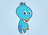 Link toBaby parrot vector free