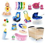 Baby theme icons