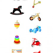 Link toBaby toys cute design vector graphics free