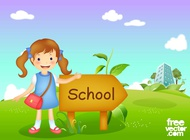 Link toBack to school vector free